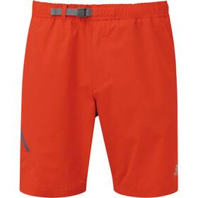 Mountain Equipment Comici Short de trail Homme, cardinal orange